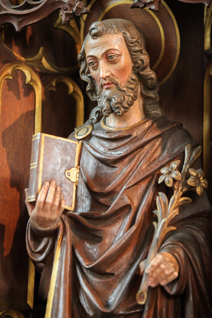 Wooden Statue of Saint Joseph